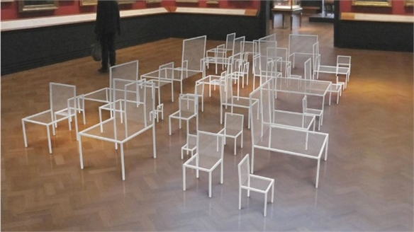 Mimicry Chairs by Nendo