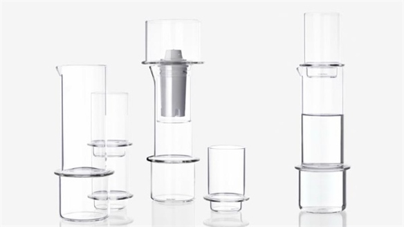 Stackable Glassware by Sebastian Bergne