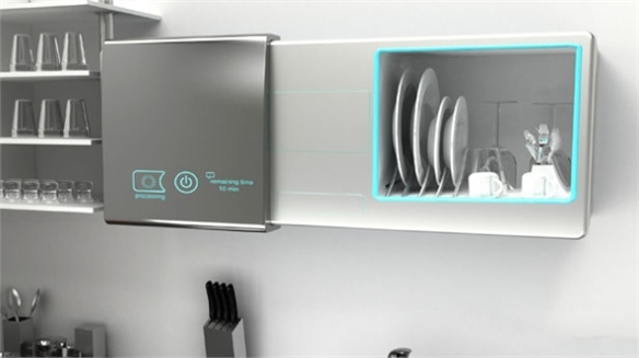 DualWash: The Waterless Dishwasher