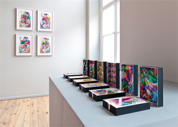 Carnovsky Showcases Colour Works in La Selva