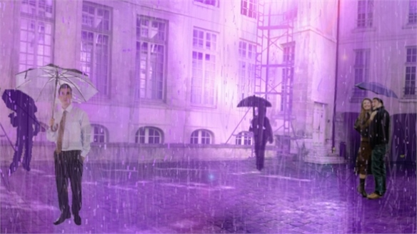 Purple Rain at Nuit Blanche