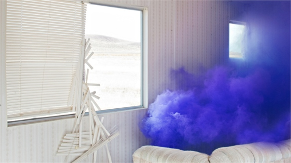 Floto + Warner Captures Coloured Smoke