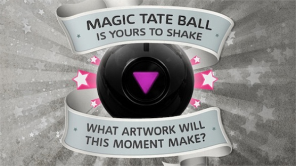 Magic Tate Ball Art Museum App