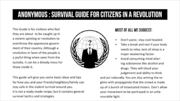 The Anonymous Survival Guide
