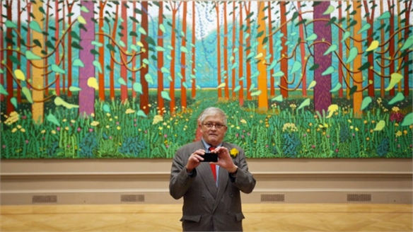 Hockney's Digital Influence