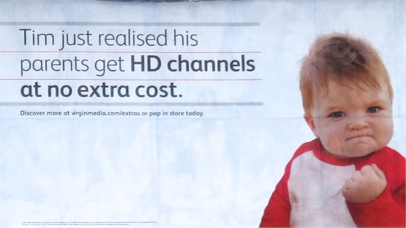 Virgin Media Taps Memes