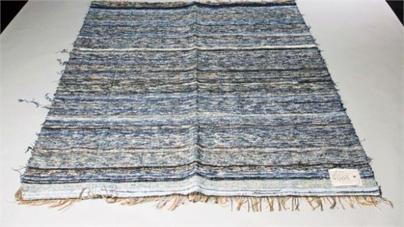 Nudie Jeans' Recycled Denim Rugs