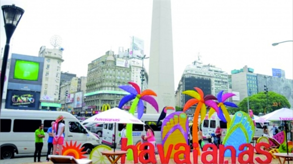Havaianas Pop-Up Beach