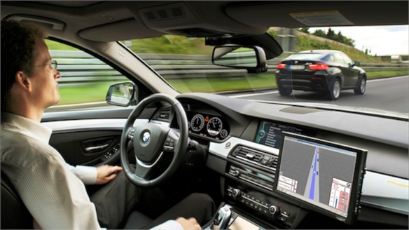 BMW's Driverless Car