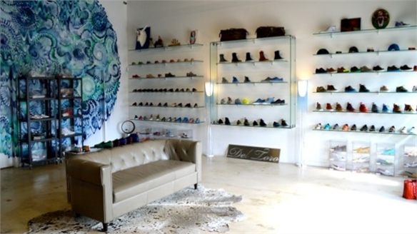 Del Toro Customised Shoe Boutique, Miami