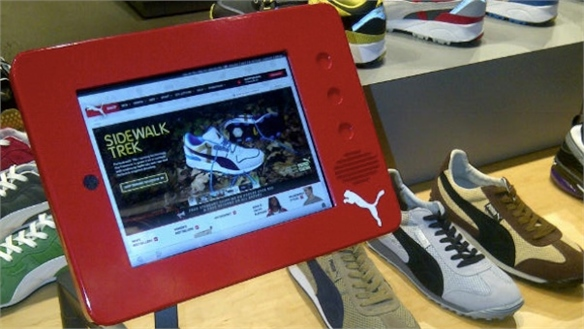 Puma NY Store Receives Digital Makeover