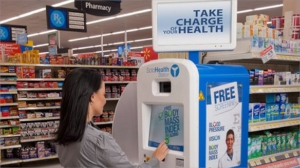 High-Street Health: Big-Box Retailers Tap the Healthcare Mar