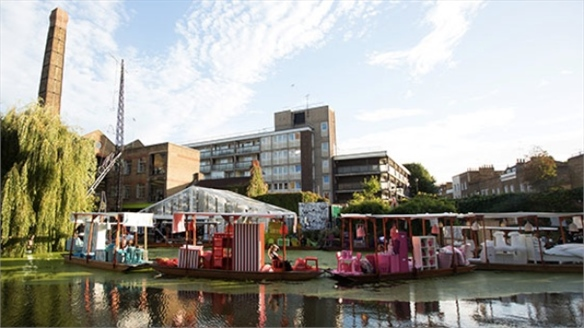 Ikea's Floating Market, London