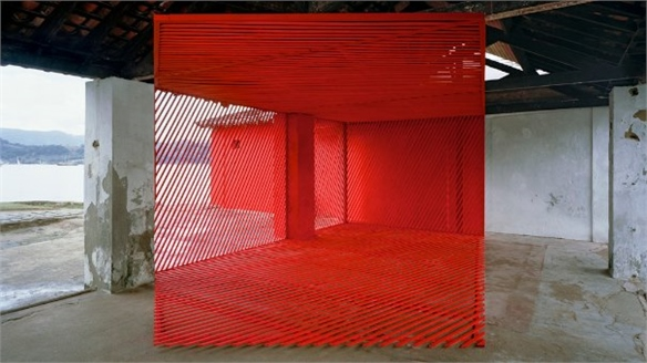 Georges Rousse and Felice Varini: Architectural Art