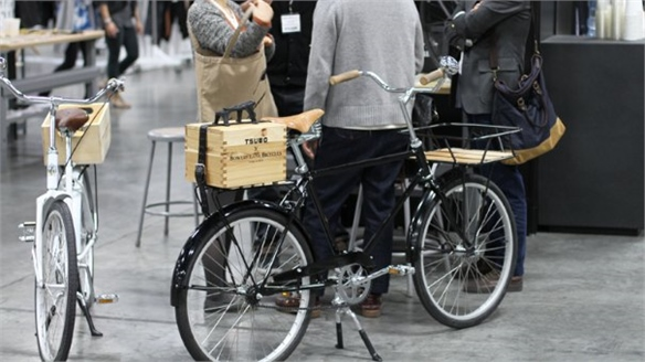 Free Designer Bike Hire at NYFW
