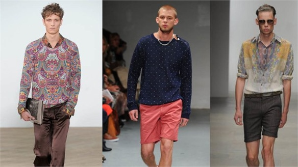 LFW: Prints for the Boys