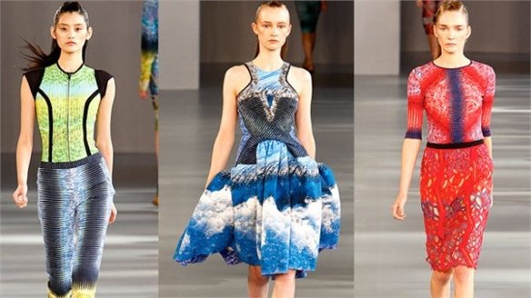 LFW S/S 2012: Prints at Peter Pilotto