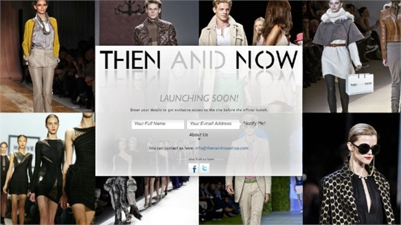 Then & Now Online Retailer Launches
