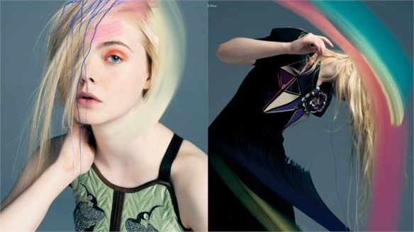 Surreal Fashion: Elle Fanning for Bullett Magazine