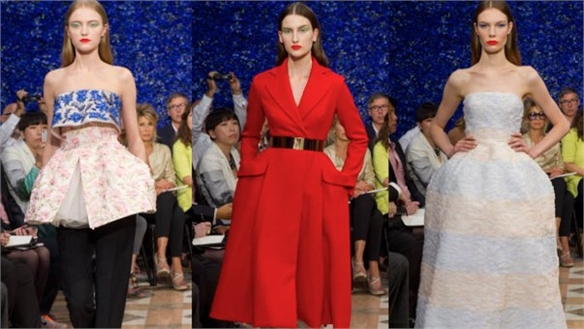 Raf Simons Shows First Collection for Dior in Paris