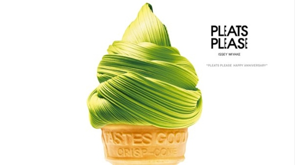 Issey Miyake: Pleats Please Anniversary Culinary Images