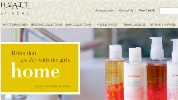 Hyatt Re-launches Online Store