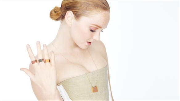 Lily Cole's Eco Rubber Jewellery