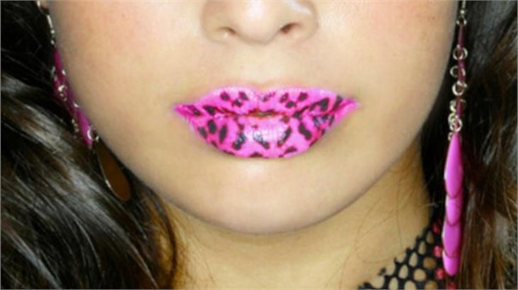 Violent Lips Tattoos
