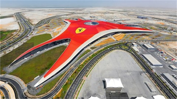 Ferrari World: Branded Landscape