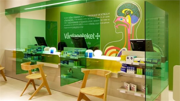 Pharmacy Rebrands Itself in Technicolour