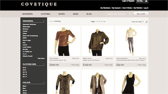 Covetique: Luxury Recommerce