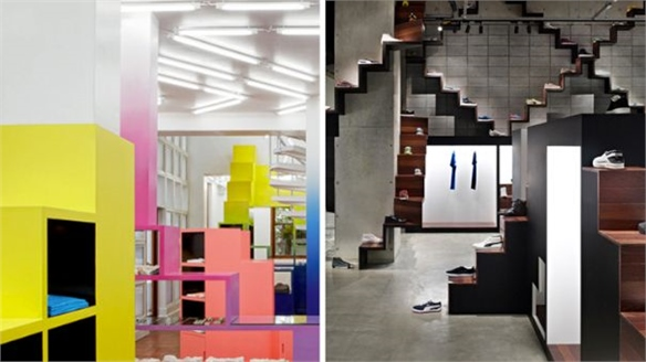 Retail Design Steps Up