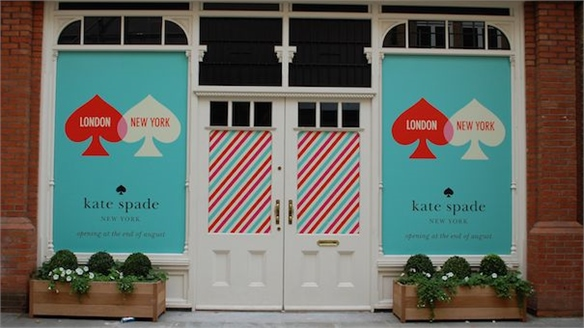 Kate Spade Lands in London