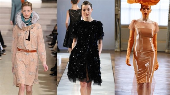 Spring 2012 Couture: Material Innovation