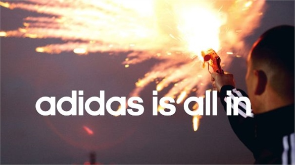 Adidas Gives its All to New Campaign