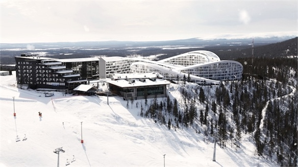 BIG Architects Go Skiing on the Roof, Finland
