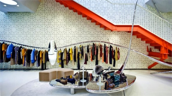 Luxury European Brands Hit Beijing