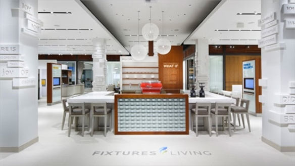 Fixtures Living, Experiential Showroom Experience