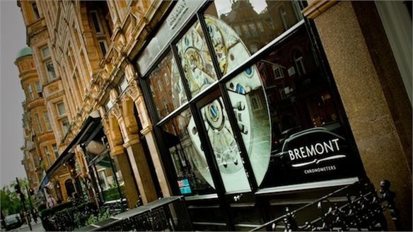 Bremont's Club-Style Flagship Boutique