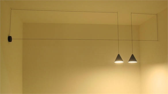 Milan 2013: String Lights by Flos and Michael Anastassiades