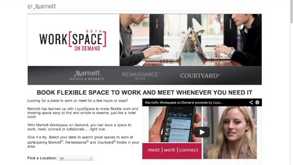 Marriott's Workspace on Demand