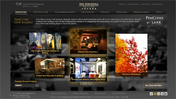 Peninsula Hotels Partners with Luxe Guides