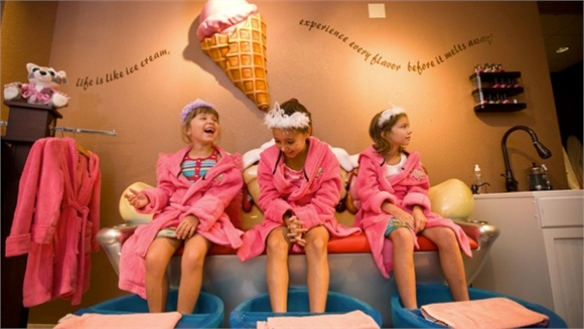 Junior Wellness: Spas for Kids