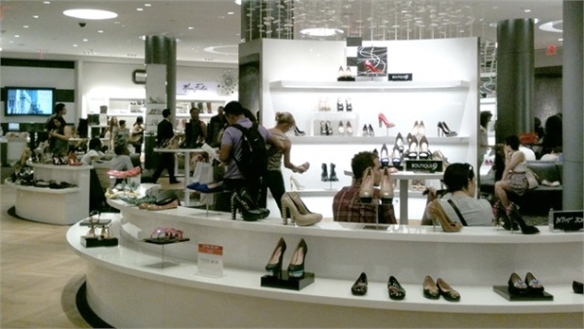 Macy's Unveils World's Largest Shoe Floor