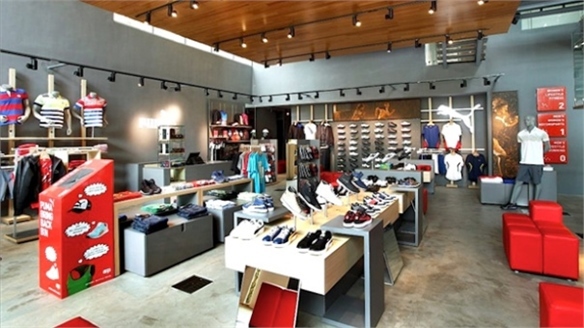 Puma's First Sustainable Store, India