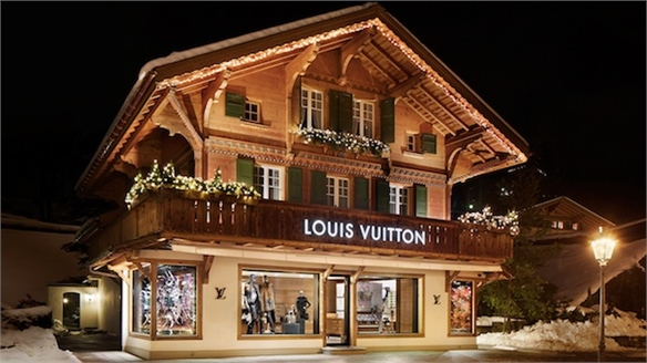 Louis Vuitton Ski Resort, Switzerland