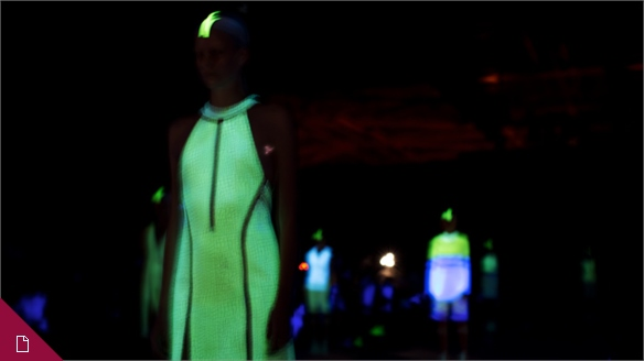 Glow in the Dark: The New Holographic?