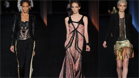 MFW S/S 2012: Roberto Cavalli – 40 Years of Glitz