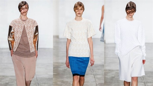 NYFW S/S 13: Louise Goldin