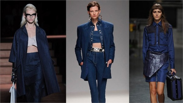 S/S 2013 Micro Trend: Dressed-Up Denim